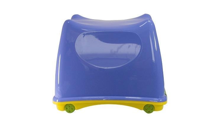 Ящик детский СУПЕР-ПУПЕР 30,5*30,5*40см. М 2599 голубой/желтый
