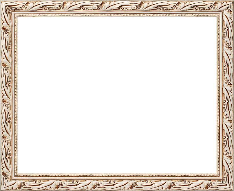 Багетная рама Kleopatra, цвет: белый, 40 х 50 см2595-BBKleopatra (белый)Багетная рама Kleopatra изготовлена из дерева. Багетные рамы предназначены для оформления картин, вышивок и фотографий.Оформленное изделие всегда становится более выразительным и гармоничным. Подбор багета для картин очень важен - от этого зависит, какое значение будет иметь выполненная работа в вашем интерьере. Если вы используете раму для оформления живописи на холсте, следует учесть, что толщина подрамника больше толщины рамы и сзади будет выступать, рекомендуется дополнительно зафиксировать картину клеем, лист-заглушку в этом случае не вставляют. В комплекте - крепежные элементы, с помощью которых изделие можно подвесить на стену и задник. Размер картины: 40 см х 50 см.Размер рамы: 48 см х 57,5 см х 2 см.