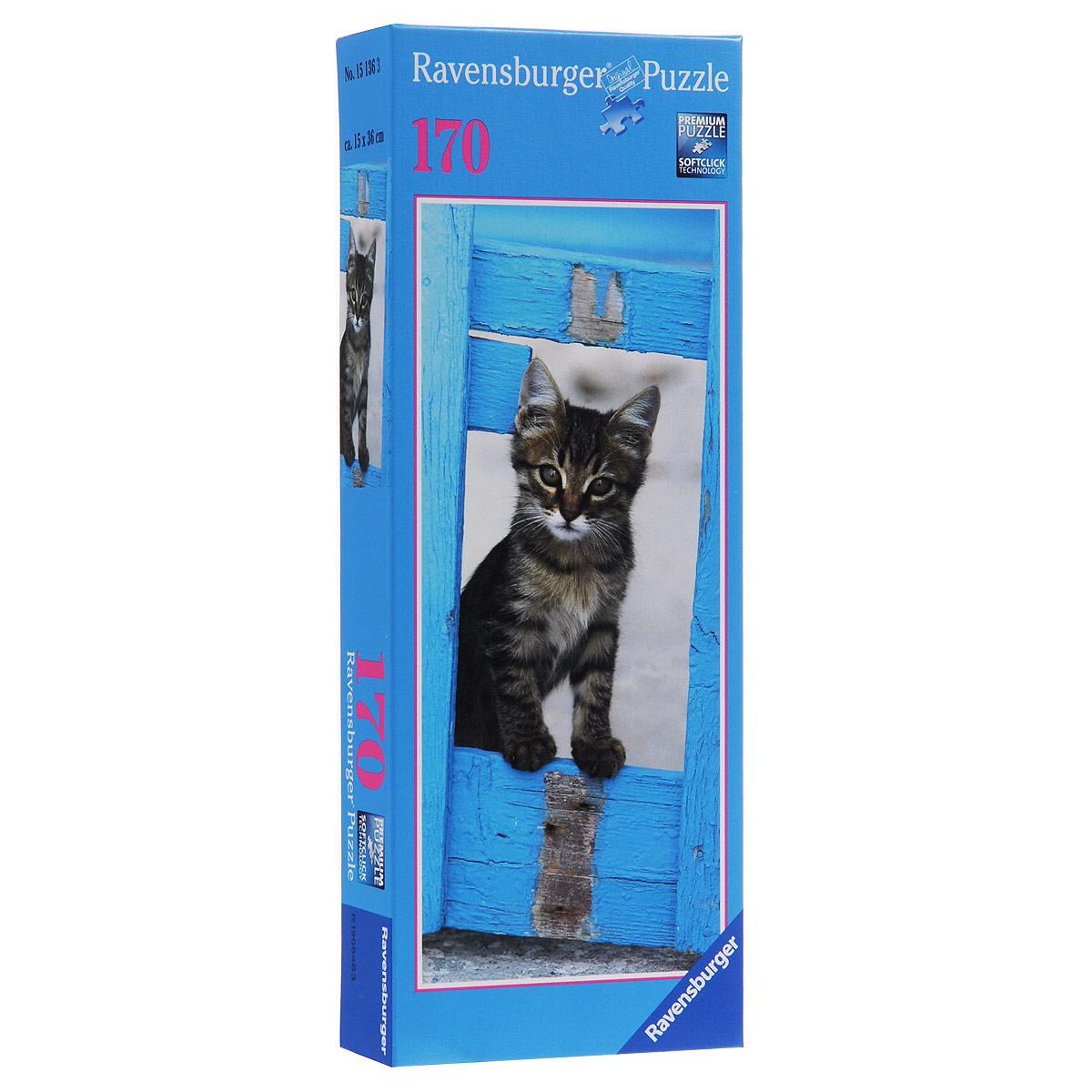 Ravensburger Любопытный котенок. Пазл, 170 элементов