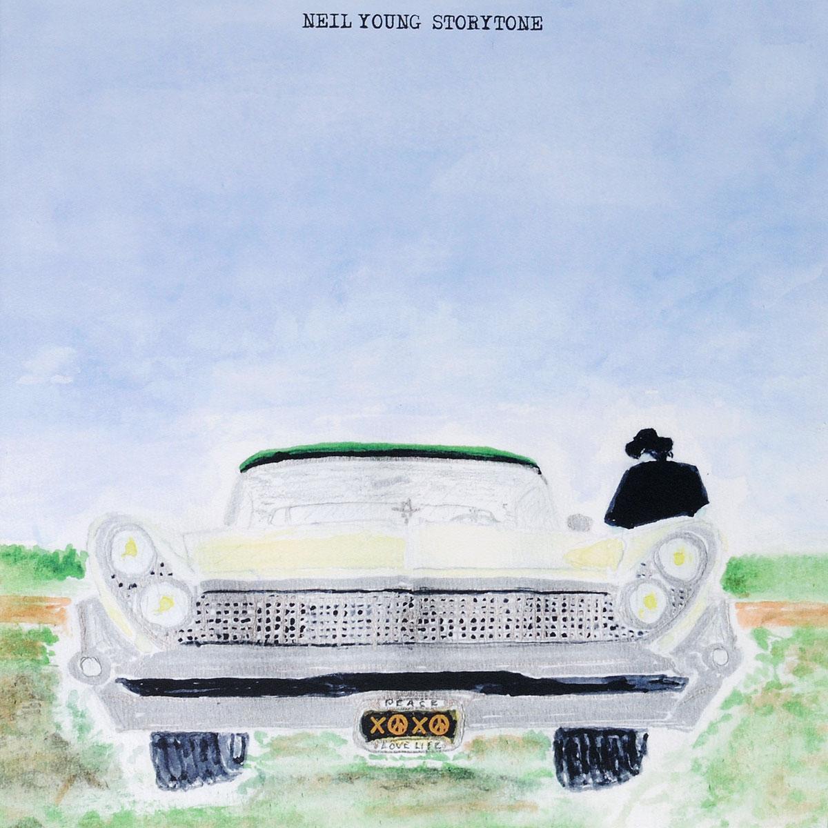 Нил Янг Neil Young. Storytone (2 LP) нил янг neil young who s gonna strand up lp
