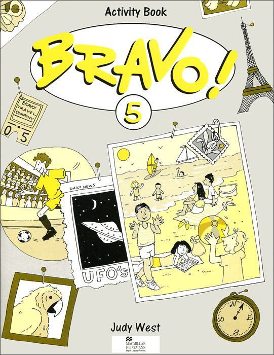 Bravo! 5: Activity Book structure of group writing activities in english textbooks