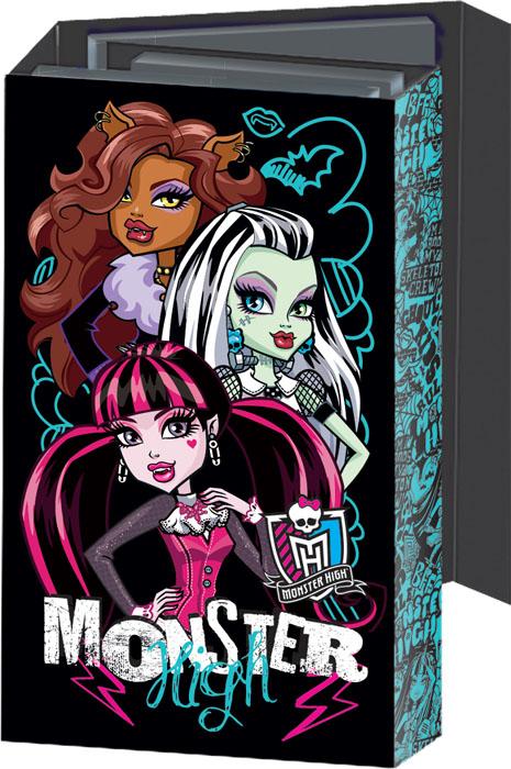 Блокнот Monster High, с раскладывающейся обложкой. MHBA-US1-OGBMHBA-US1-OGBОригинальный блокнот Monster High в твердой обложке с магнитным клапаном прекрасное место для памятных записей, любимых стихов и многого другого. Внутри - три разных блокнота: записная книга, телефонно-адресная книга, ежедневник, два из которых на пружине. Каждый блокнот содержит по 36 листов. Такой блокнот вызовет улыбку у каждого, кто его увидит, а также послужит оригинальным и практичным подарком.