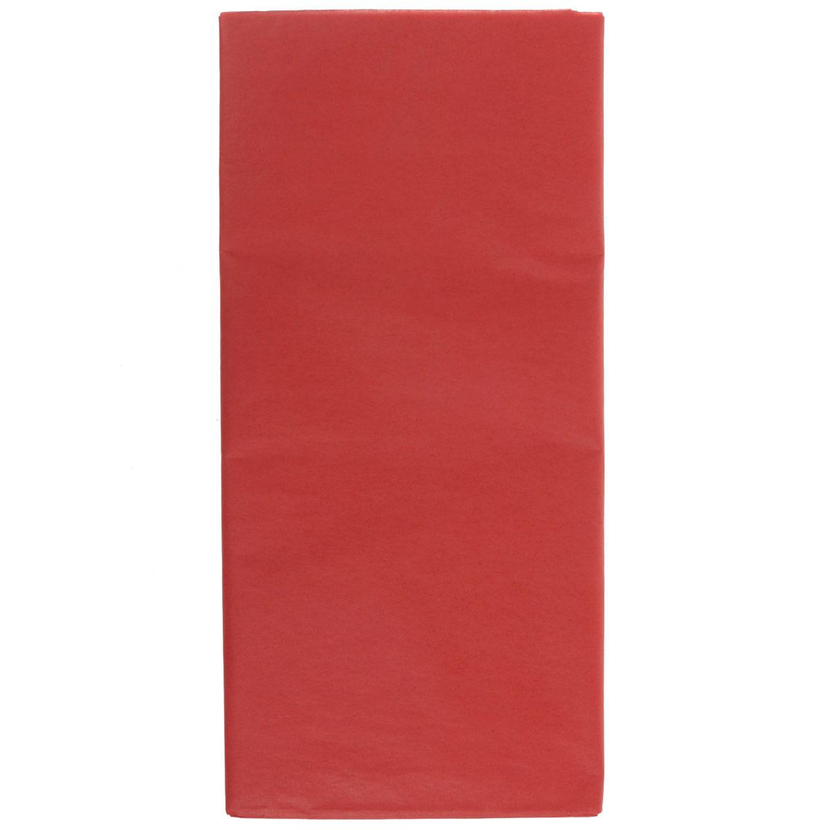 Бумага папиросная Folia, цвет: красный (20), 50 х 70 см, 5 листов. 7708123_207708123_20Бумага папиросная Folia - это великолепная тонкая и эластичная декоративная бумага. Такая бумага очень хороша для изготовления своими руками цветов и букетов с конфетами, топиариев, декорирования праздничных мероприятий. Также из нее получается шикарная упаковка для подарков. Интересный эффект дает сочетание мягкой полупрозрачной фактуры папиросной бумаги с жатыми и матовыми фактурами: креп-бумагой, тутовой и различными видами картона. Бумага очень тонкая, полупрозрачная - поэтому ее можно оригинально использовать в декоре стекла, светильников и гирлянд. Достаточно большие размеры листа и богатая цветовая палитра дают простор вашей творческой фантазии. Размер листа: 50 см х 70 см.Плотность: 20 г/м2.