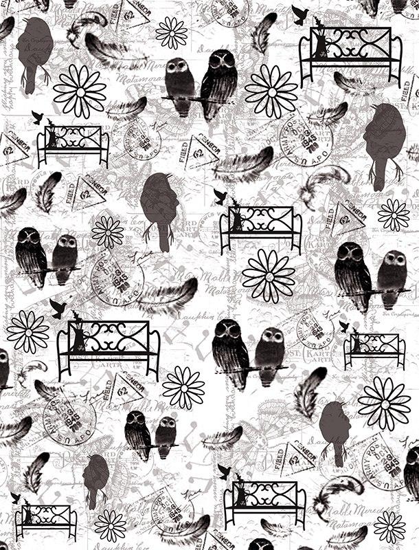 Пленка-оверлей для скрапбукинга Птичья история, 21 см х 30 смAM403023Пленка-оверлей Птичья история - прозрачная пленка с нанесенным рисунком. Используется чаще всего в скрапбукинге для декорирования фотографий, альбомов, открыток, блокнотов, сувенирных книг и прочего. Для крепления пленки используются разные способы - люверсы, машинная строчка, можно привязать ленточкой, сделав надрез или отверстие, можно приклеить на клей (двухсторонний скотч, и т.п.) и задекорировать это место другими элементами украшений (цветочками, ленточками, пуговками, аппликациями). На пленке можно писать перманентной ручкой или маркером.