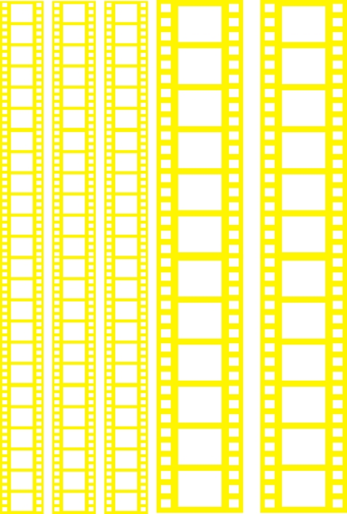 Пленка-оверлей для скрапбукинга Кинопленка, цвет: желтый, 21 см х 30 смAM403063Пленка-оверлей Кинопленка - прозрачная пленка с нанесенным рисунком. Используется чаще всего в скрапбукинге для декорирования фотографий, альбомов, открыток, блокнотов, сувенирных книг и прочего. Для крепления пленки используются разные способы - люверсы, машинная строчка, можно привязать ленточкой, сделав надрез или отверстие, можно приклеить на клей (двухсторонний скотч, и т.п.) и задекорировать это место другими элементами украшений (цветочками, ленточками, пуговками, аппликациями). На пленке можно писать перманентной ручкой или маркером.
