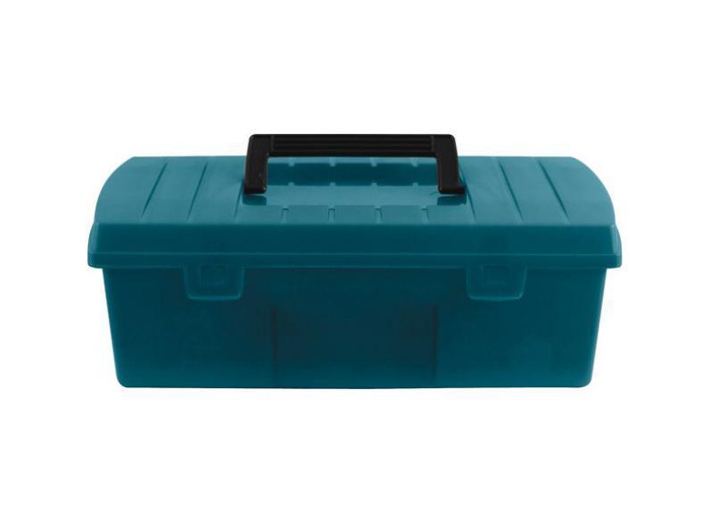 Ящик для инструмента FIT, 12. 6549665496Ящик для инструмента FIT предназначен для хранения и удобной транспортировки инструментов. Изготовлен из пластика и имеет внутри 2 переставных разделителя, что дает возможность регулировать размеры отделений. Ящик надежно закрывается с помощью защелок. Удобная рукоятка обеспечивает комфортную переноску. Инструментальный ящик применяется как в профессиональной сфере, так и в быту: он очень вместительный, помогает упорядочить нужные в работе предметы и всегда держать их под рукой. Характеристики: Материал: пластик. Размеры внутренние: 28 см x 12,5 см x 7 см. Размеры одного отделения: 9,5 см x 12,5 см x 7 см. Размеры внешние: 30 см x 13,5 см x 9,5 см. Размер упаковки: 30 см x 13,5 см x 9,5 см.