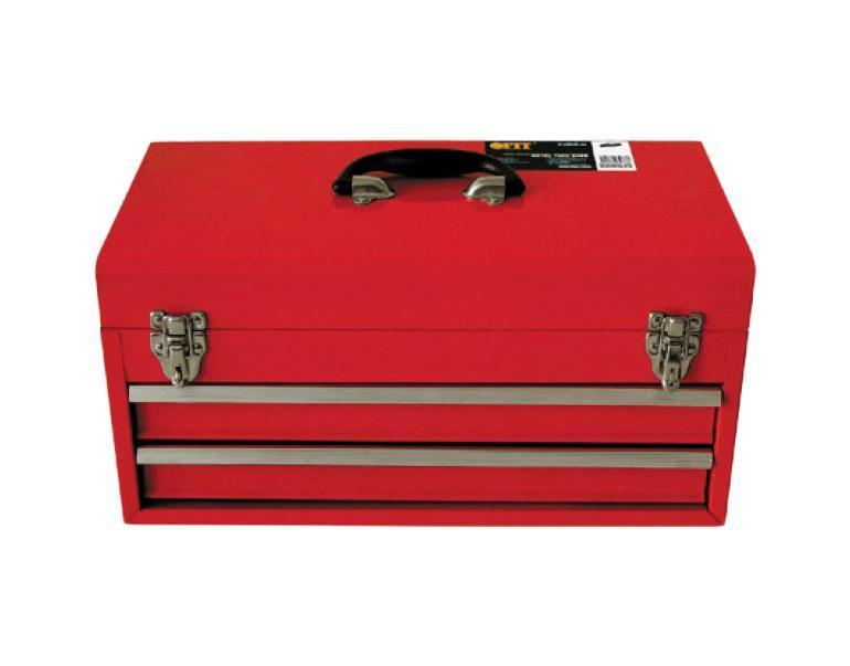 Ящик для инструмента FIT, металлический, с двумя выдвижными отделениями, 46 х 22 х 25 см65683Металлический ящик FIT оригинальной конструкции с двумя выдвигающимися ящиками. Прочная металлическая конструкция обеспечит отличные условия хранения для инструмента, расходного материала и т.д.