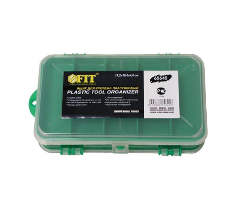 Ящик для крепежа FIT, двухстороннийсторонний, 17,5 х 10,6 х 4,6 см FIT