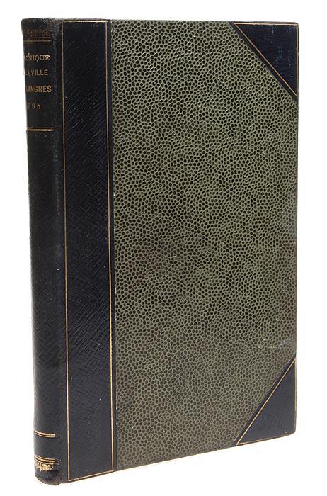 Langres-Revue. Chronique de la ville de Langres en 1895