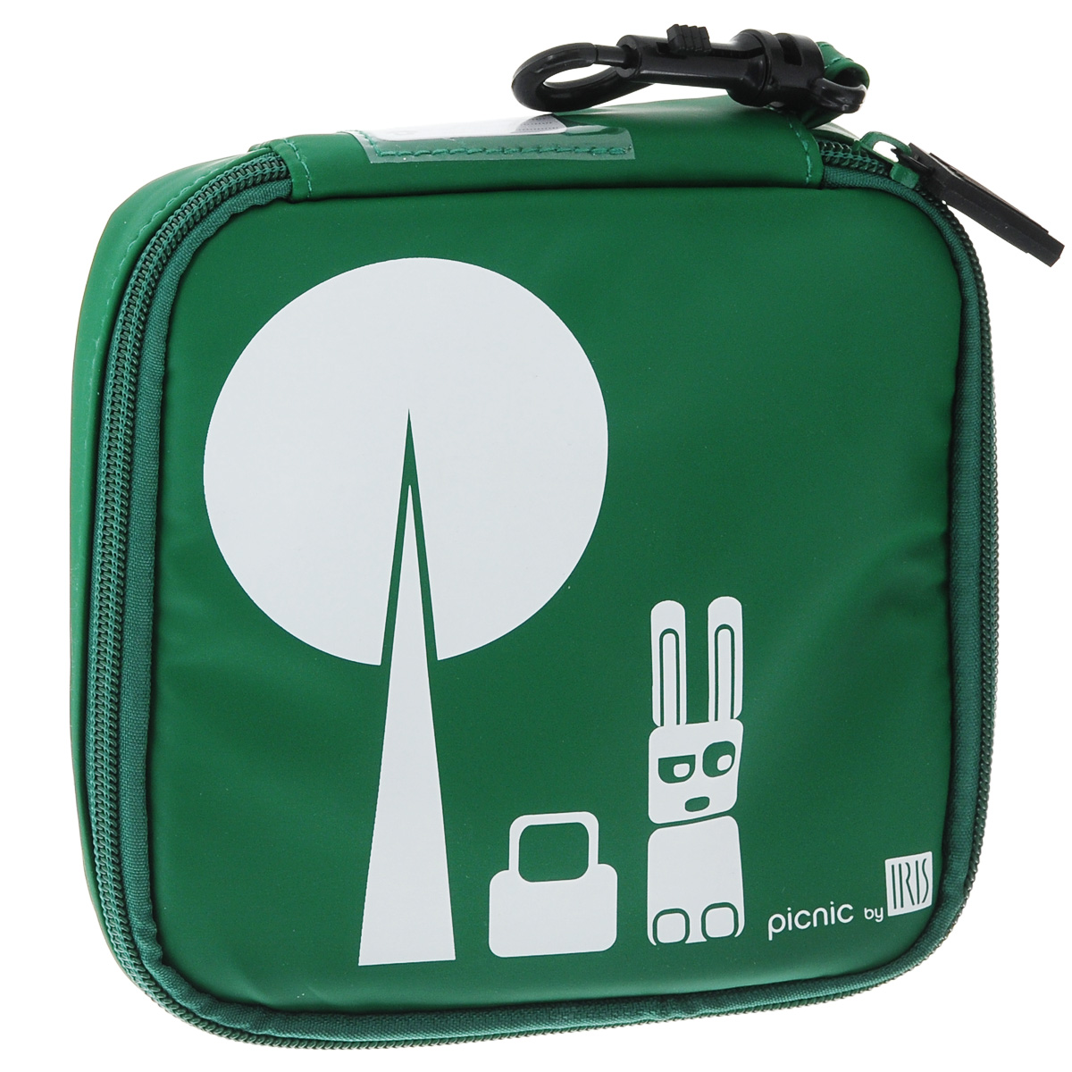 Термобутербродница мягкая Iris Barcelona Kids, цвет: зеленый, 15 х 15 см9911-TVМягкая термобутербродница Iris Barcelona Kids идеально подходит, чтобы взять в школу, на прогулку или в поездку. В течение нескольких часов сохранит еду свежей и вкусной благодаря специальному внутреннему покрытию из теплоизолирующего материала. Специальный фиксирующий поясок не позволит бутерброду распасться. Имеется внутренний сетчатый карман для салфеток. Плотный материал стенок сохранит бутерброд от любых внешних воздействий.Безопасный пластмассовый карабин позволит легко пристегнуть бутербродницу к ранцу или сумке.Заменяет все одноразовые упаковки. При бережном использовании прослужит не один год.