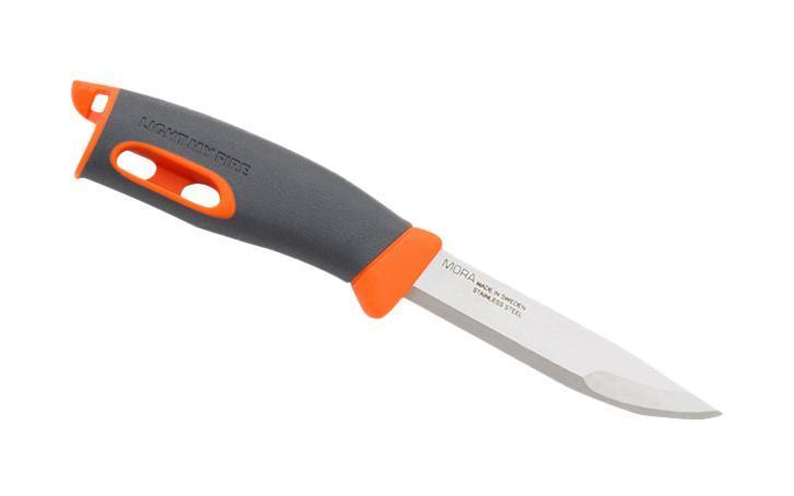 """Нож для выживания """"Swedish FireKnife"""" с огнивом, цвет: оранжевый, Light My Fire"""