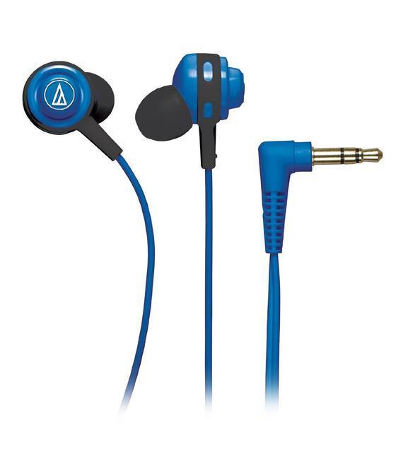 Audio-Technica ATH-COR150, Blue наушникиATH-COR150 BLНасыщенные текстурированные басыЧистый детализированный звукЛегкость переноски и хранения благодаря катушке для намотки кабеляДополнительный заушный фиксатор кабеля8 цветовых решений