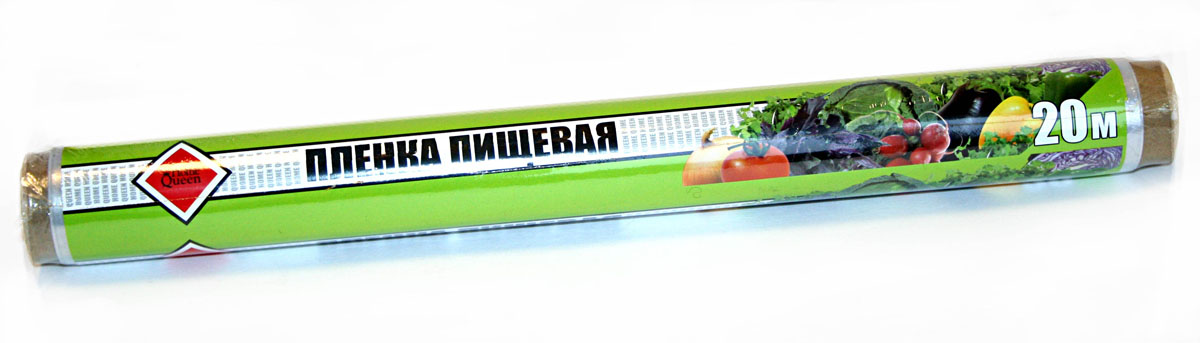 Пленка пищевая Home Queen, 20 м х 29 см56477Пленка пищевая Home Queen применяется для хранения и транспортировки продуктов. Прекрасно сохраняет полезные свойства, позволяет длительно хранить продукты питания. Широкое полотно позволяет хранить крупные куски мяса и рыбы, овощей. Длина: 20 м.Ширина: 29 см. Материал: ПВД.