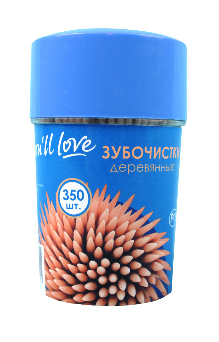 Зубочистки деревянные You'll love, 6,7 см, 350 шт зубочистки 50 x bi1u