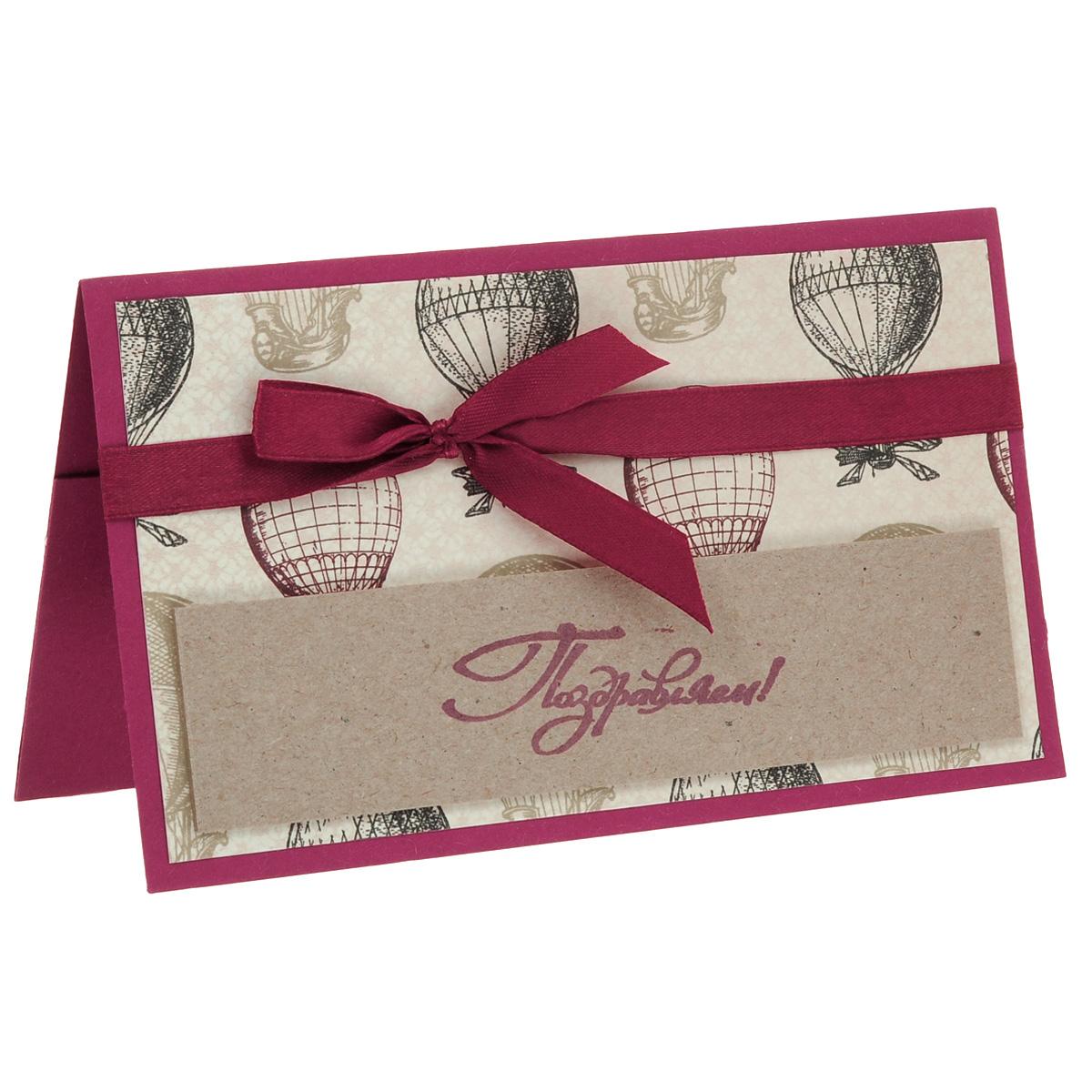 ОМ-0014 Открытка-конверт «Поздравляем!» (воздушные шары). Студия «Тётя Роза»94976Характеристики: Размер 19 см x 11 см.Материал: Высоко-художественный картон, бумага, декор. Данная открытка может стать как прекрасным дополнением к вашему подарку, так и самостоятельным подарком. Так как открытка является и конвертом в который вы можете вложить ваш денежный подарок или просто написать ваши пожелания на вкладыше. Бесконечный полет мечты на воздушном шаре! Именно это поздравление поддерживает тонкую амбициозную идею!Яркая атласная лента и небрежно завязанный бант усиливают эффект восприятия. Также открытка упакована в пакетик для сохранности.Обращаем Ваше внимание на то, что открытка может незначительно отличаться от представленной на фото.Открытки ручной работы от студии Тётя Роза отличаются своим неповторимым и ярким стилем. Каждая уникальна и выполнена вручную мастерами студии. (Открытка для мужчин, открытка для женщины, открытка на день рождения, открытка с днем свадьбы, открытка винтаж, открытка с юбилеем, открытка на все случаи, скрапбукинг)