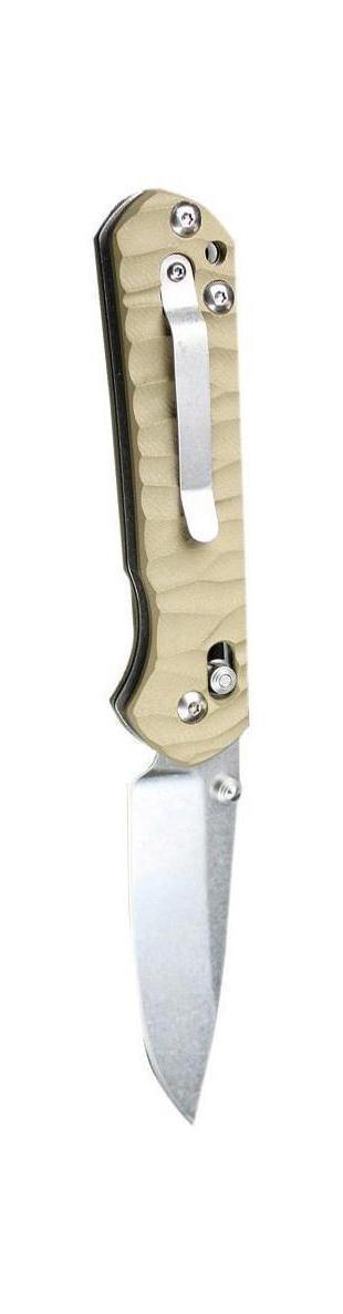 Нож складной туристический Ganzo G717-yG717yСкладной нож Ganzo G717 всегда найдет себе применение на даче или в гараже, на рыбалке или охоте. Малые габариты делают его удобным при частой транспортировке. Лезвие выполнено из высококачественной нержавеющей стали.