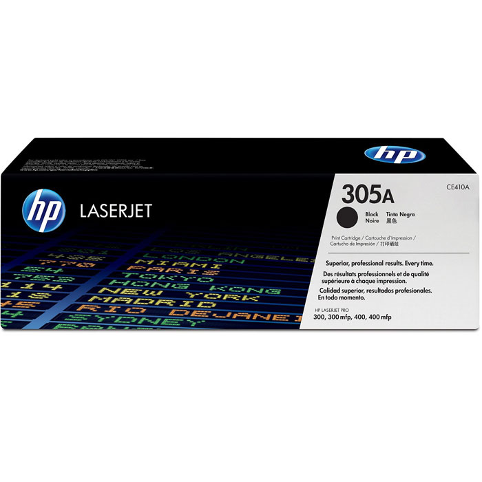 HP CE410A (305A), Black картридж для лазерных принтеров new paper delivery tray assembly output paper tray rm1 6903 000 for hp laserjet hp 1102 1106 p1102 p1102w p1102s printer
