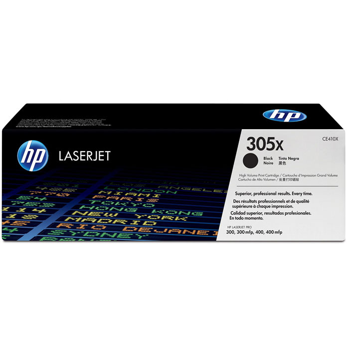 HP CE410X (305X), Black картридж для лазерных принтеровCE410X