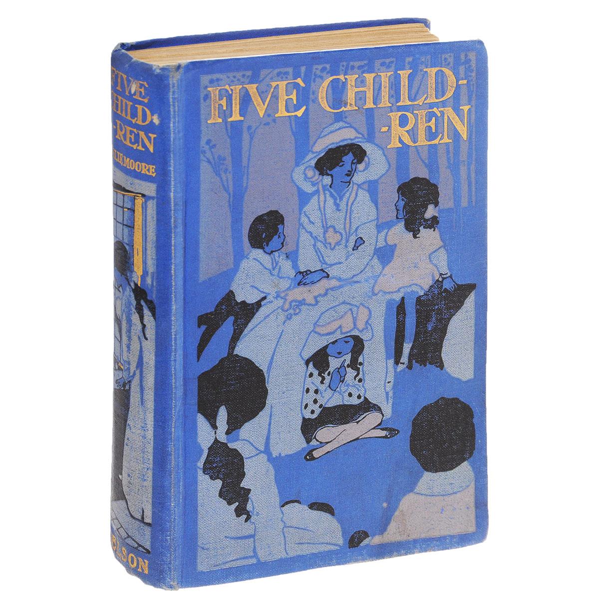 Five Children and Their AdventuresPPLCEВашему вниманию представлено антикварное издание FIVE CHILDREN AND THEIR ADVENTURES 1910 года. Издательский переплет, хорошее состояние.
