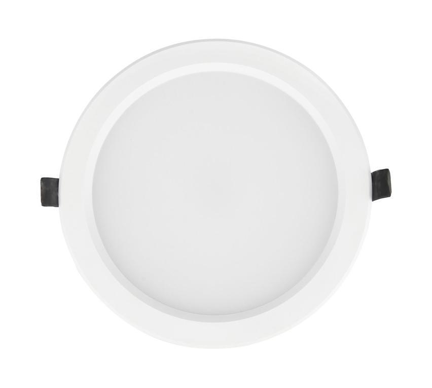 Встраиваемый потолочный светодиодный светильник Elektrostandard DLS173 15W 6500K белый (WH)