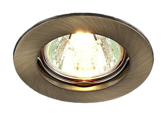 Точечный светильник Elektrostandard 863A SB (бронза)a030071Точечные светильники Elektrostandard могут использоваться в любых помещениях – спальня, кухня, ванная, в торговых и производственных помещениях. Точечные светильники подходят для натяжных, подвесных и реечных потолков. Благодаря особой технологии нанесения красителя и гальваники, светильники могут быть использованы в помещениях с повышенной влажностью, например в ванной.