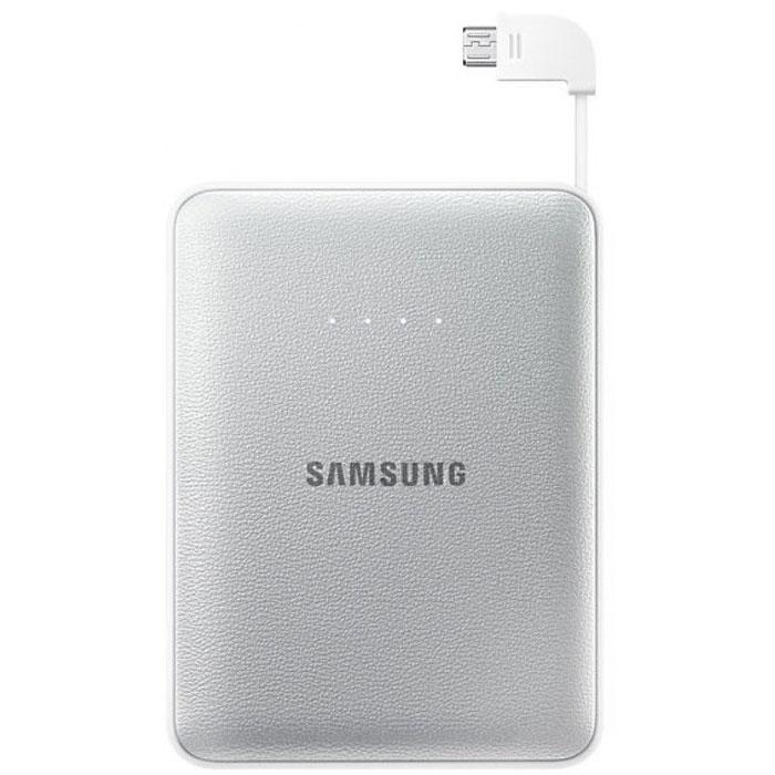 Samsung EB-PG850B, Silverвнешний аккумуляторEB-PG850BSRGRUSamsung EB-PG850BCRGRU Pink Fox - это не просто внешний аккумулятор, но и самое настоящее украшение вашей сумки, а также забота о природе и вымирающих животных. Часть доходов от продажи этого устройства производитель направляет на сохранение вымирающих видов. Используемая в этой модели батарея обладает высокой емкостью 8400 мАч, чего достаточно для зарядки нескольких устройств. Причем делать вы можете это даже одновременно: Samsung EB-PG850B поддерживает параллельное подключение двух заряжаемых гаджетов, 5-уровневый индикатор показывает степень разряженности аккумулятора. Проверить состояние устройства можно одним нажатием клавиши. Аккумуляторные элементы Samsung SDI, используемые в этой модели, прошли тщательные испытания под контролем технических специалистов Samsung. Поэтому вы можете не волноваться о надежности устройства