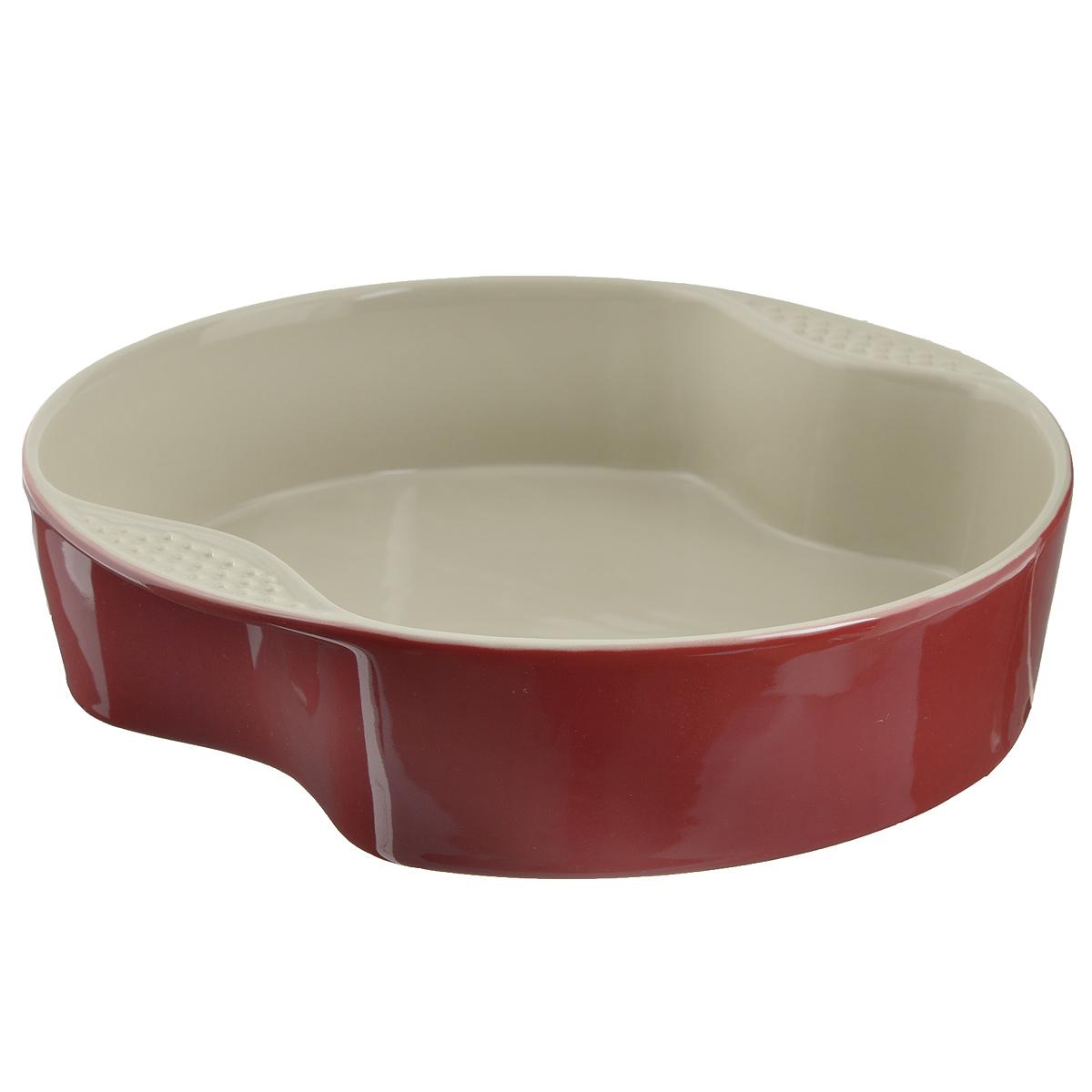 Форма для выпечки Mayer & Boch, цвет: красный, диаметр 29 см21770Форма для выпечки Mayer & Boch изготовленная из жаропрочной керамики, подходит для любого вида пищи. Элегантный дизайн идеально подходит для современного дома. Изделия из керамики идеально подходят как для приготовления пищи, так и для подачи на стол. Материал не содержит свинца и кадмия. С такой формой вы всегда сможете порадовать своих близких оригинальным блюдом.Форму для выпечки можно использовать в духовом шкафу и в микроволновой печи, замораживать в холодильнике. Можно мыть в посудомоечной машине.Размер формы (с учетом ручек): 29 см х 29 см х 7 см.Размер формы (без учета ручек): 21,5 см х 27,5 см х 7 см.Высота стенок: 7 см.Толщина стенок: 6-7 мм.