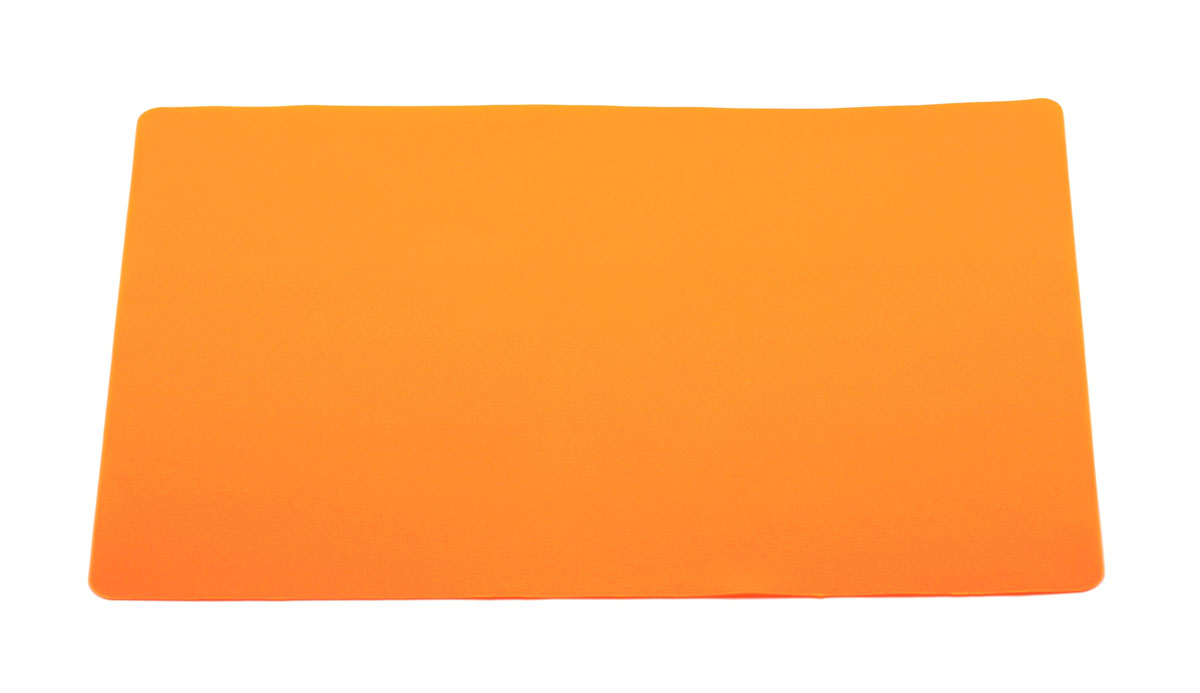 Кулинарный лист для раскатки теста Atlantis, цвет: оранжевый, 37 см х 27 смSC-MT-101-OКулинарный лист для раскатки теста Atlantis изготовлен из высококачественного пищевого силикона. На нем очень удобно раскатывать тесто. Лист идеально прилегает к поверхности стола и не скользит, а тесто не пристает к листу, что обеспечивает удобное и комфортное приготовление. Лист выдерживает температуру до +230°С, не впитывает запахи и легко моется в посудомоечной машине. Можно использовать как подставку под горячую посуду. Теперь во время приготовления не нужно постоянно подсыпать муку, чтобы тесто не прилипало к поверхности стола. Вы сохраните чистоту на кухне и упростите столь трудоемкий процесс приготовления выпечки.Размер листа: 37 см х 27 см.