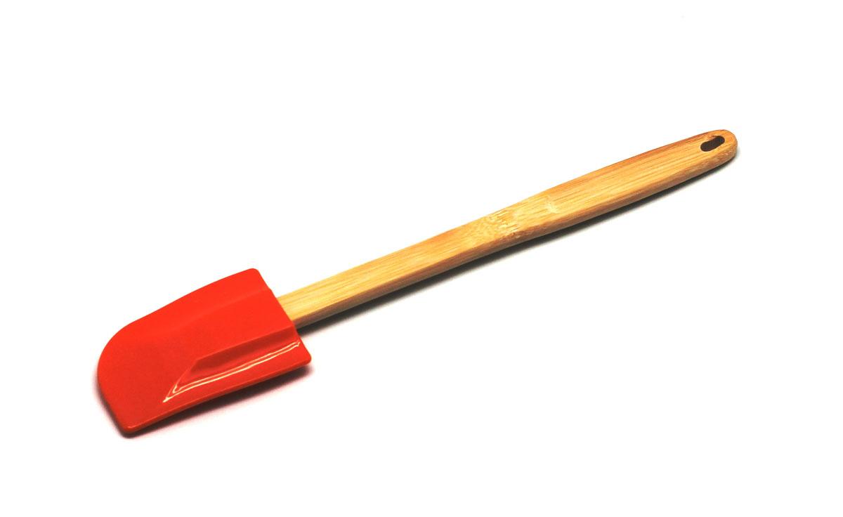 Лопатка для перемешивания, цвет: оранжевыйSC-SP-017E-OЛопатка для перемешивания выдерживает температуру до +230°С, не впитывает запахи и легко моется в посудомоечной машине.