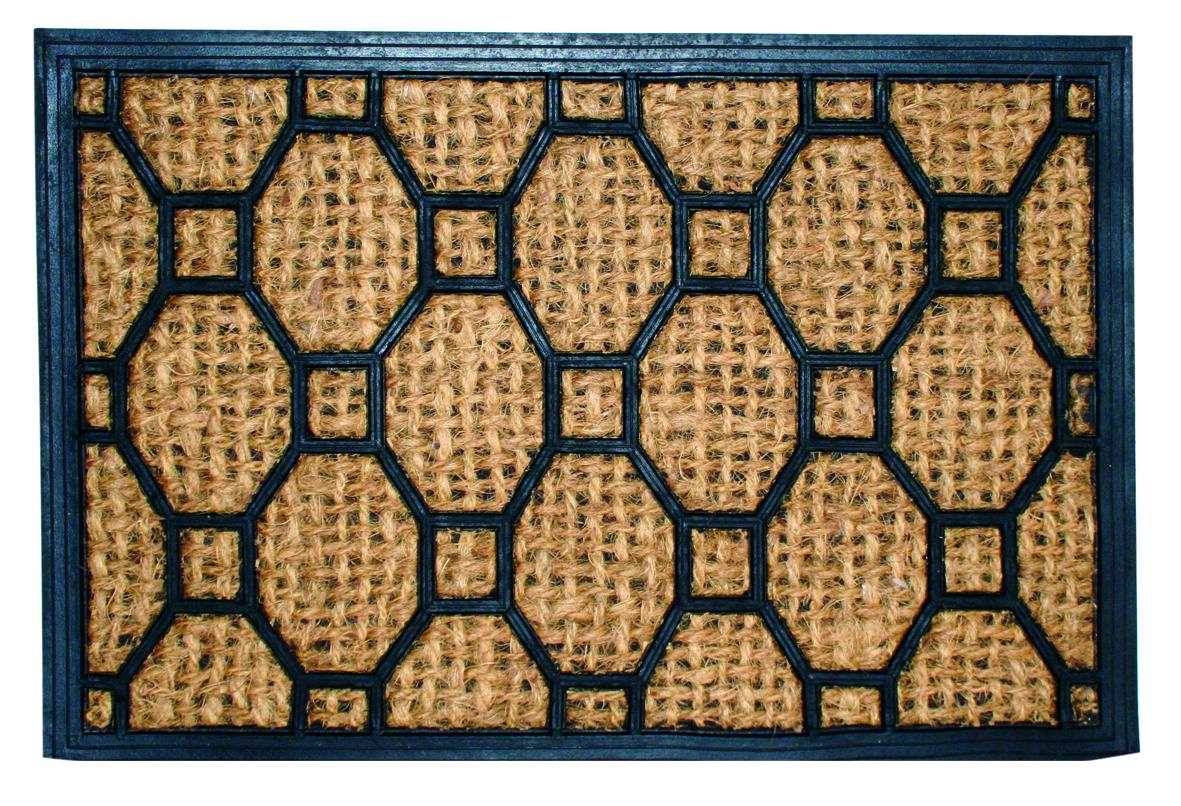 Коврик дверной Home Queen, 40 см х 60 см1092028Этот оригинальный дверной коврик Home Queen, изготовленный из кокосовоговолокна и резины, первым встретит вас и гостей у дверей дома. Долговечныесвойствакокосового волокна позволяют хорошо впитывать влагу и запах. Коврик дверной Home Queen сохранит ваш пол чистым от уличной грязи, аоригинальный дизайн украсит дом.УВАЖАЕМЫЕ КЛИЕНТЫ!Обращаем ваше внимание на дизайн товара. Поставка осуществляется в зависимости от наличия на складе.