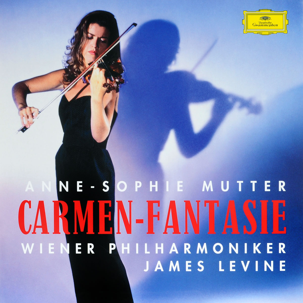 Anne-Sophie Mutter, Wiener Philharmoniker, James Levine. Carmen-Fantasie (LP)