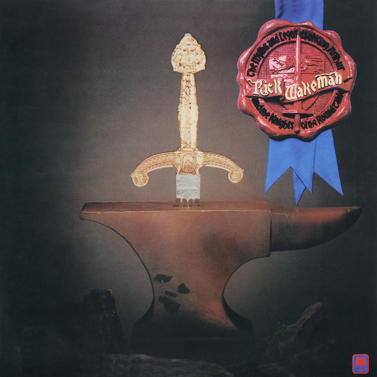 Рик Уэйкман Rick Wakeman. The Myths And Legends Of King Arthur And The Knights Of The Round Table (LP) king arthur and the knights of the round table