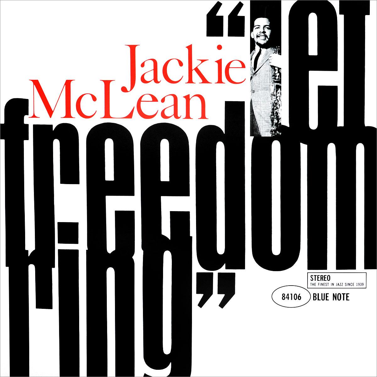 Джеки Маклин Jackie McLean. Let Freedom Ring (LP) blue note