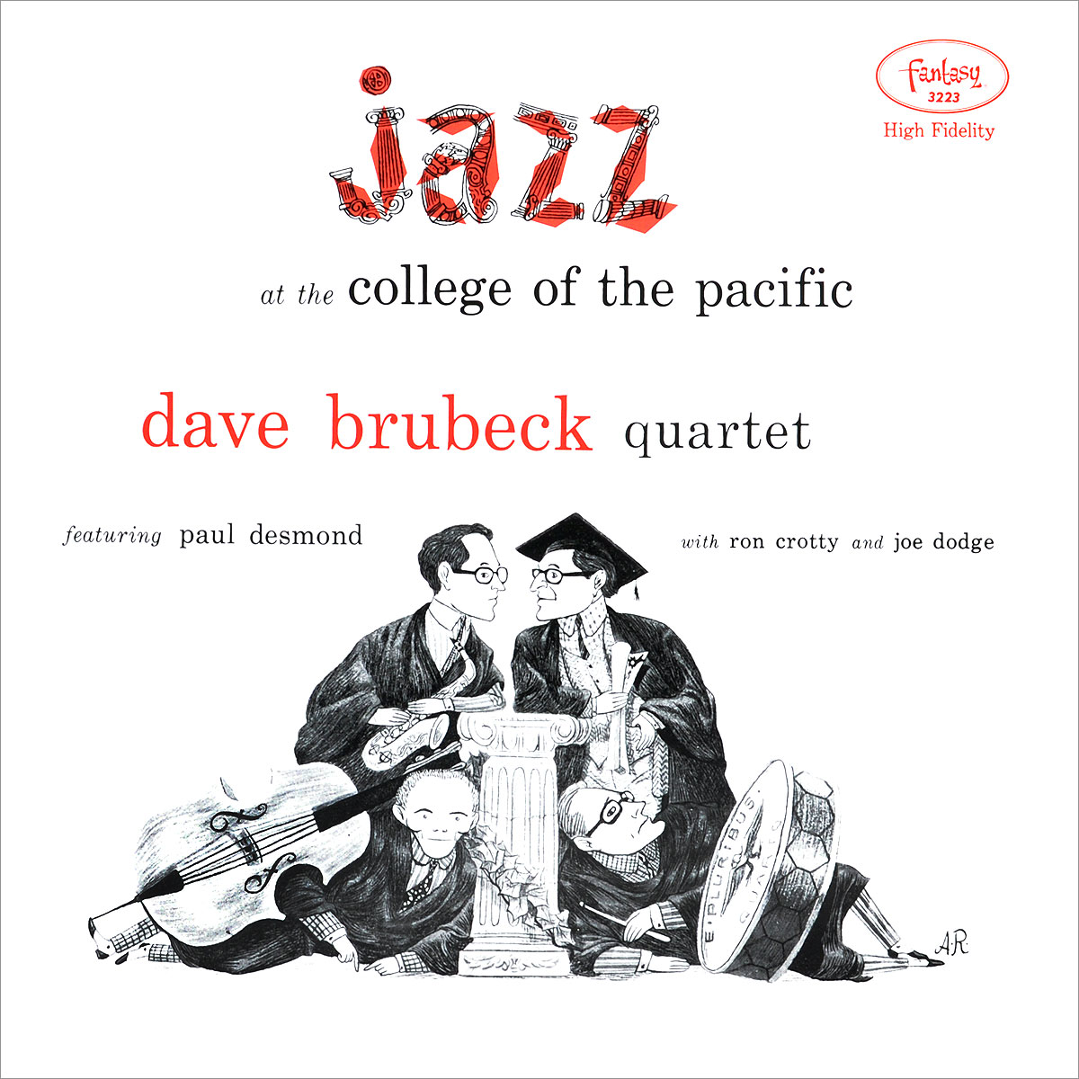 Dave Brubeck Quartet. Jazz At The College Of The Pacific (LP)