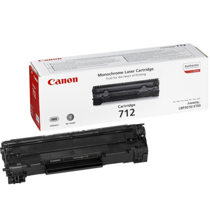 Canon 712 (1870B002), Black картридж для принтеров LBP 3010/3020 canon 712