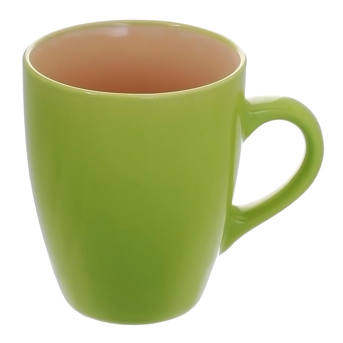 """Кружка """"Тюльпан"""", цвет: зеленый, 370 мл"""