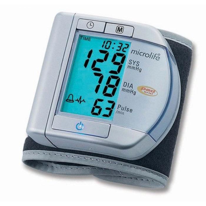 Тонометр запястный с технологией определения аритмии пульса Microlife BP W100 купить microlife nc 100
