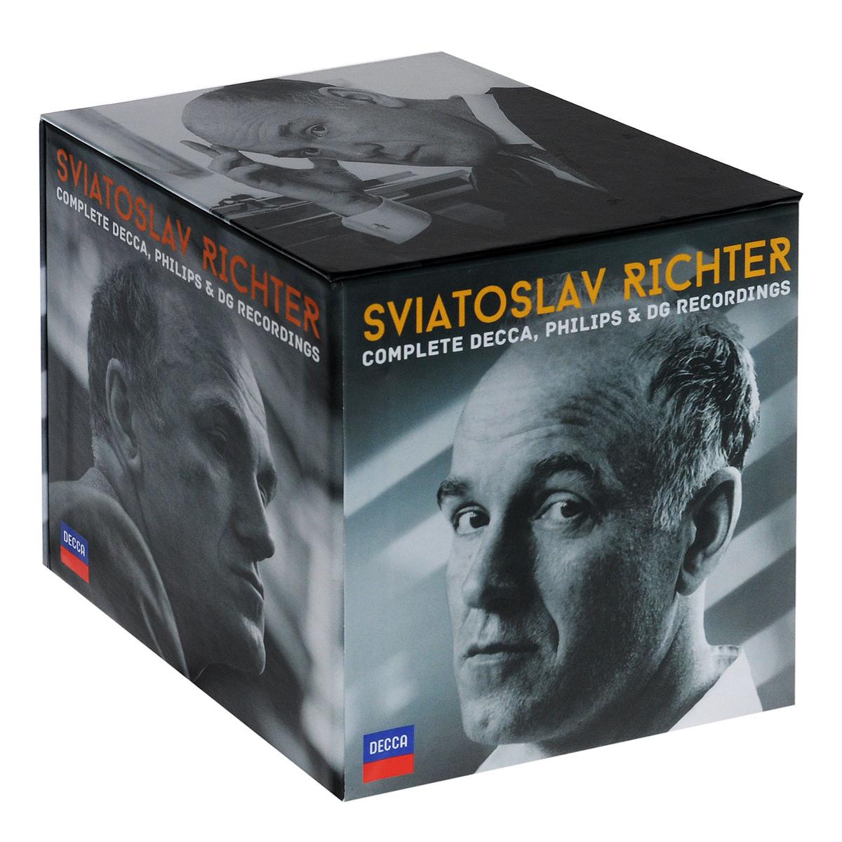 Святослав Рихтер Sviatoslav Richter. Complete Decca, Philips & DG Recordings. Limited Edition (51 CD)