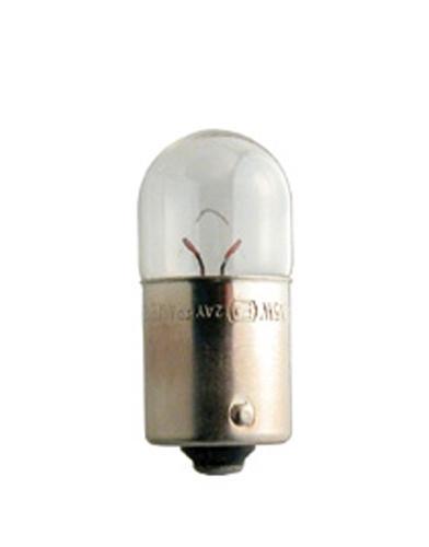Лампа автомобильная Narva R5W 12V-5W (BA15s) (2шт.) 1717117171/171714000NARVA предлагает полный ассортимент сигнальных ламп 12 В для замены стандартных ламп, включая сигнальные светодиодные лампы для лучшей видимости и дополнительной безопасности. Вы по достоинству оцените увеличенную в четыре раза яркость и более долгий срок службы светодиодного салонного освещения.Напряжение: 12 вольт