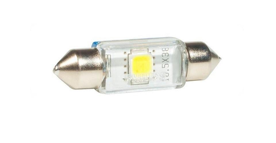 Сигнальная автомобильная лампа Fest T10,5 24V- 1W (SV8,5-41/11) LED 6000K (к.уп.1шт.) 24946 6000KX124946 6000KX1Уже в течение 100 лет компания Philips остается в авангарде автомобильного освещения, внедряя технологические инновации, которые впоследствии становятся стандартом для всей отрасли. Сегодня каждый второй автомобиль в Европе и каждый третий в мире оснащены световым оборудованием Philips.Соответствие нормам ECEPhilips Automotive предлагает лучшие в классе продукты и услуги на рынке оригинальных комплектующих и послепродажного обслуживания автомобилей. Наши продукты производятся из высококачественных материалов и соответствуют самым высоким стандартам, чтобы обеспечить максимальную безопасность и комфортное вождение для автомобилистов. Вся продукция проходит тщательное тестирование, контроль и сертификацию (ISO 9001, ISO 14001 и QSO 9000) в соответствии с самыми высокими требованиями ECE.Многократное использованиеГде использовать лампу на 12 В? Решения Philips Automotive удовлетворят все нужды автомобилистов: дальний свет, ближний свет, передние противотуманные фары, передние и боковые указатели поворота, задние указатели поворота, стоп-сигналы, фонари заднего хода, задние противотуманные фонари, освещение номерного знака, задние габаритные/стояночные фонари, освещение салона.