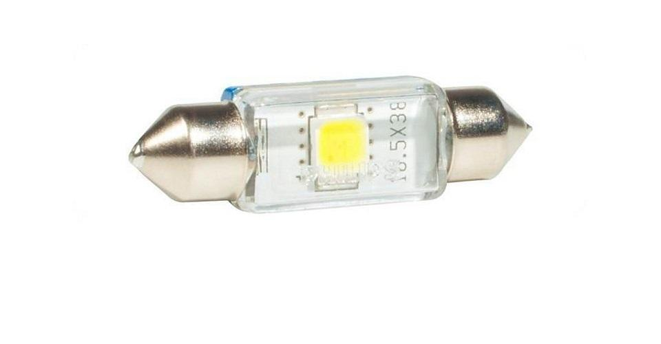 Сигнальная автомобильная лампа Fest T10,5 24V- 1W (SV8,5-38/11) LED 6000K (к.уп.1шт.) 24944 6000KX124944 6000KX1Уже в течение 100 лет компания Philips остается в авангарде автомобильного освещения, внедряя технологические инновации, которые впоследствии становятся стандартом для всей отрасли. Сегодня каждый второй автомобиль в Европе и каждый третий в мире оснащены световым оборудованием Philips.Соответствие нормам ECEPhilips Automotive предлагает лучшие в классе продукты и услуги на рынке оригинальных комплектующих и послепродажного обслуживания автомобилей. Наши продукты производятся из высококачественных материалов и соответствуют самым высоким стандартам, чтобы обеспечить максимальную безопасность и комфортное вождение для автомобилистов. Вся продукция проходит тщательное тестирование, контроль и сертификацию (ISO 9001, ISO 14001 и QSO 9000) в соответствии с самыми высокими требованиями ECE.Многократное использованиеГде использовать лампу на 12 В? Решения Philips Automotive удовлетворят все нужды автомобилистов: дальний свет, ближний свет, передние противотуманные фары, передние и боковые указатели поворота, задние указатели поворота, стоп-сигналы, фонари заднего хода, задние противотуманные фонари, освещение номерного знака, задние габаритные/стояночные фонари, освещение салона.