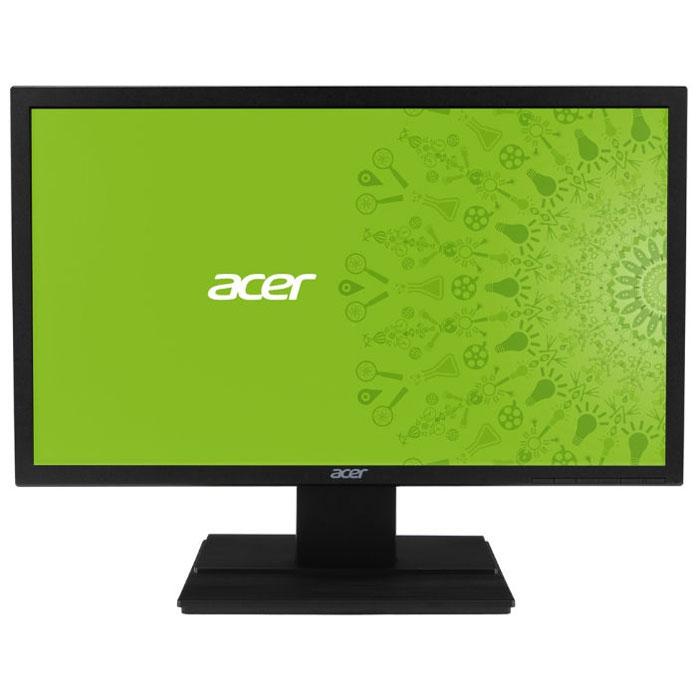 Acer V246HLBD, Black мониторUM.FV6EE.002Купить ЖК монитор Acer V246HLbd - значит стать обладателем превосходного устройства визуализации длякомпьютерных игр, который благодаря быстрой TN матрице с малым временем отклика в 5 мс обеспечит плавныйгеймплей и отсутствие эффекта размытости движущихся объектов в динамичных играх. Широкоформатный LCDмонитор Acer V246HLbd оснащен матовым 24 дюймовым экраном с соотношением сторон 16:9 и разрешением 1920 x1080 пикселей, который обеспечивает не только отсутствие бликов, но и высокую детализацию изображения вфильмах и играх Full HD качества. С помощью дополнительно приобретаемого кронштейна VESA вам не составитникакого труда закрепить ЖК монитор Acer V246HLbd на стене.