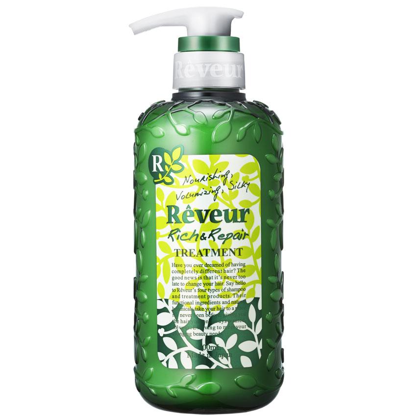 Reveur Кондиционер для волос Питание и восстановление, 500 мл3210Кондиционер содержит 3 специальных природных компонента, придающих упругость, эластичность, а также 14 растительных экстрактов, питающих волосы и возвращающих им естественный и здоровый вид. Смягчающий компонент на основе коллагена делает волосы невероятно мягкими и послушными.Силикон, содержащийся в кондиционере, запечатывает полезные компоненты на ваших волосах до следующего мытья головы. Рекомендуется для: ослабленных волос, не держащих объем; волос, потерявших упругость и эластичность, не поддающихся укладке; сильно поврежденных волос; кудрявых волос; создания красивых локонов. Имеет элегантный и теплый восточный аромат «Oriental Floral».Рекомендуется использовать вместе с шампунем Reveur «Rich & Repair».Товар сертифицирован.