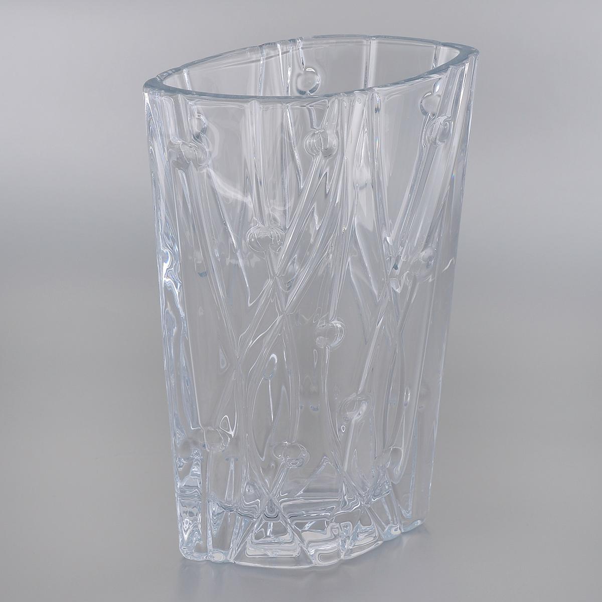 Ваза Crystalite Bohemia Лабиринт, высота 30,5 см8KC87/0/99J52/305Изящная ваза Crystalite Bohemia Лабиринт изготовлена из прочного утолщенного стекла кристалайт. Она красиво переливается и излучает приятный блеск. Ваза оснащена оригинальным рельефным рисунком, что делает ее изящным украшением интерьера. Ваза Crystalite Bohemia Лабиринт дополнит интерьер офиса или дома и станет желанным и стильным подарком.