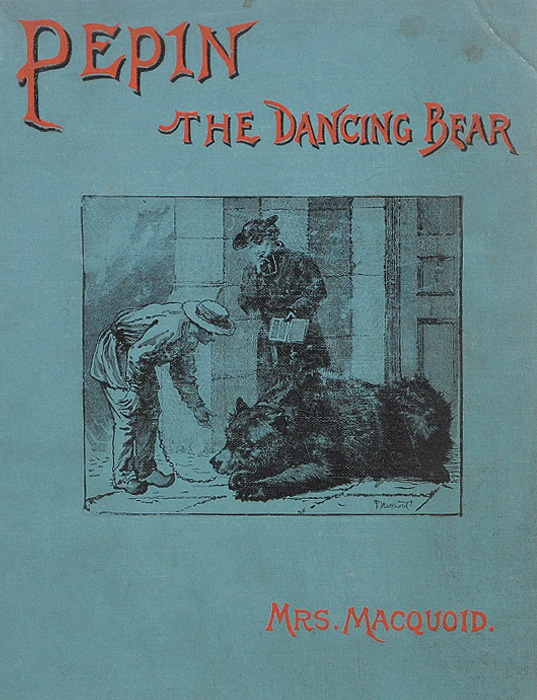 Pepin: The Dancing Bear4002064401324Mrs. Macquoid tells a pathetic tale. Joseph Le Bas takes his dancing bear, Pepin by name, from his home by the Isere on a long journey into Germany, hoping to reap a good harvest in that country by exhibiting the unaccustomed spectacle of his accomplishments. Unhappily, he is disappointed. The spectacle is too strange; the German peasants refuse to believe that the creature is harmless. Joseph finds it hard to get accommodation for his poor Pepin. The unlucky animal catches a severe cold, and in spite of the kindness and skill of a good parish priest who doctors him in his extremity, breathes its last in a foreign country. How Joseph is consoled when he reaches his home, our readers may find out for themselves. The illustrations are noticeably good.