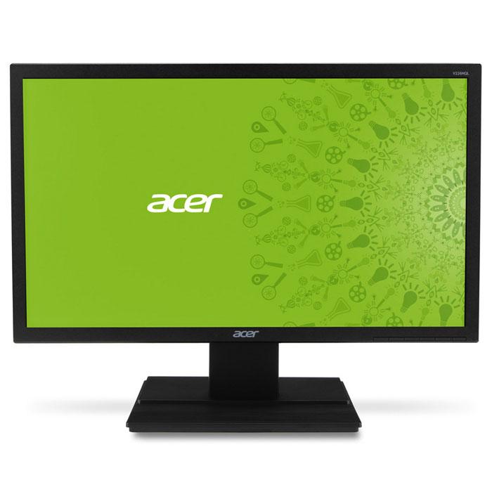 Acer V226HQLABMD, Black монитор монитор acer al1916w