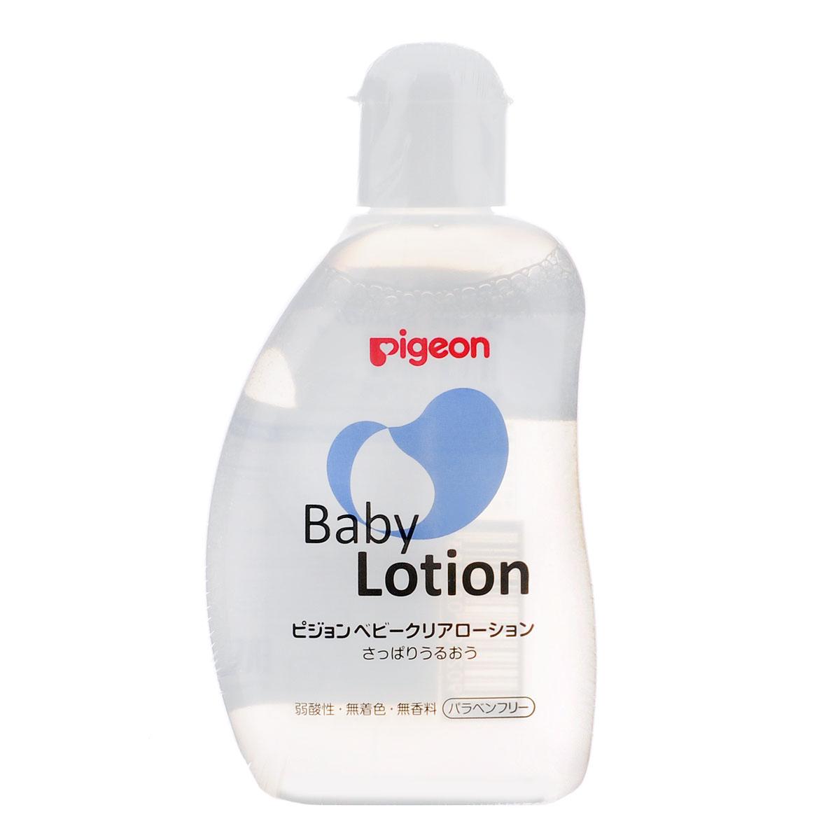 PIGEON Лосьон увлажняющий детский 120мл08260/08368Лосьон Pigeon подходит для ежедневного ухода за малышом с рождения. Основные преимущества: Содержит увлажняющие компоненты: керамиды, удерживающие влагу в коже, аминокислоты, гиалуроновую кислоту для эластичности кожи.Не содержит красителей и фосфора.Не раздражает кожу рук.Уровень кислотности (рН 5,6) такой же, как на коже щеки младенца.Товар сертифицирован.