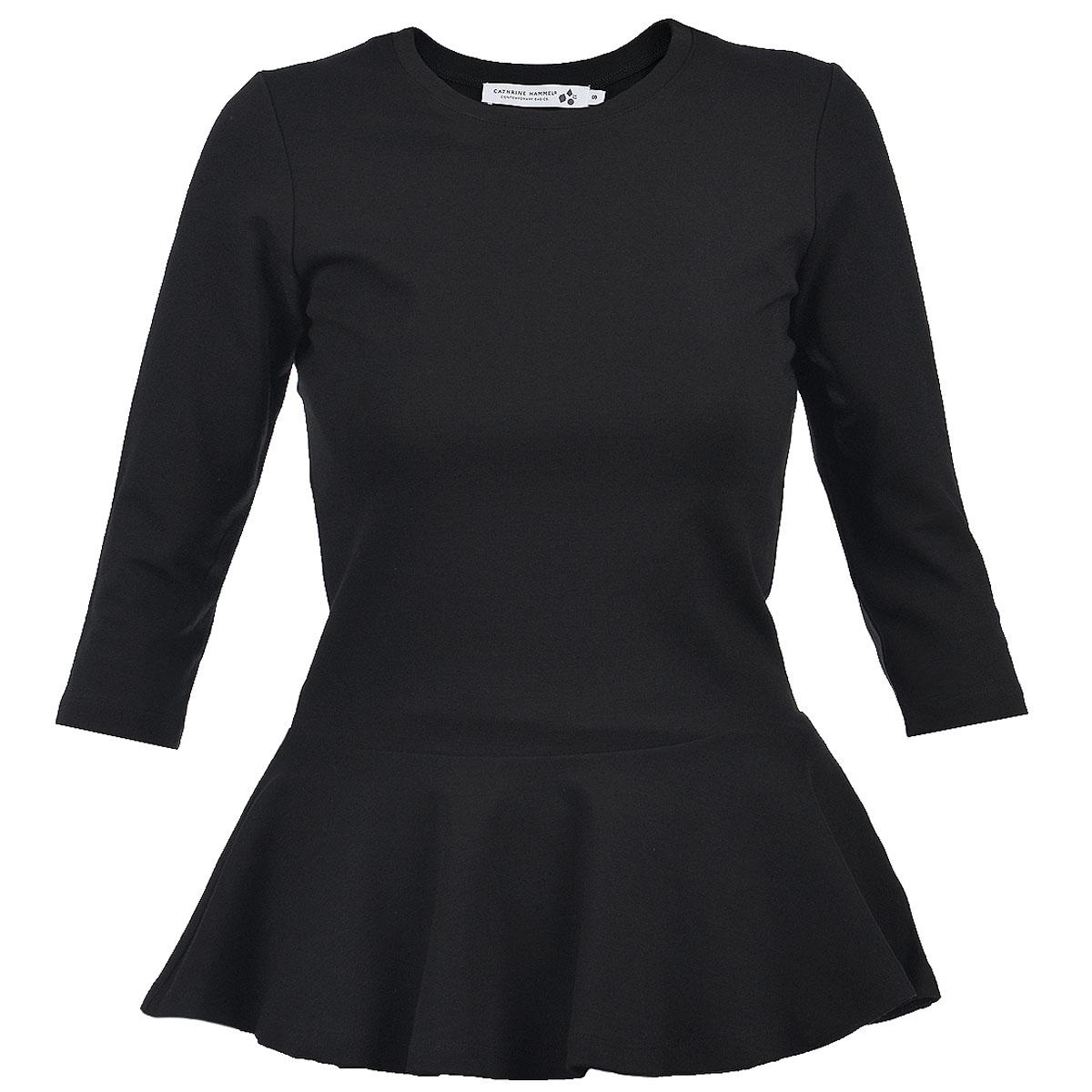 Блуза Cathrine Hammel, цвет: черный. 36.13. Размер XS (40)36.13Оригинальная блуза Cathrine Hammel создана, чтобы сыграть выигрышную партию в повседневном гардеробе.Очаровательная блуза с круглым вырезом горловины выполнена из вискозы с добавлением нейлона и спандекса. В такой оригинальной блузе вы будете чувствовать себя уютно и комфортно и всегда будете в центре внимания!