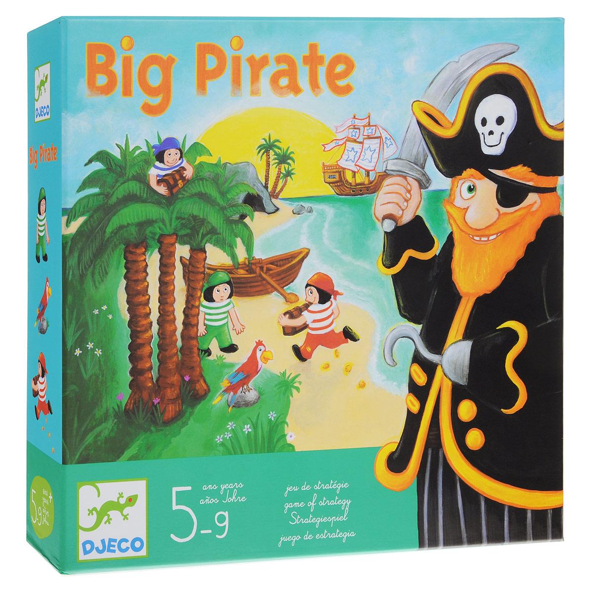 Djeco Обучающая игра Большой пират