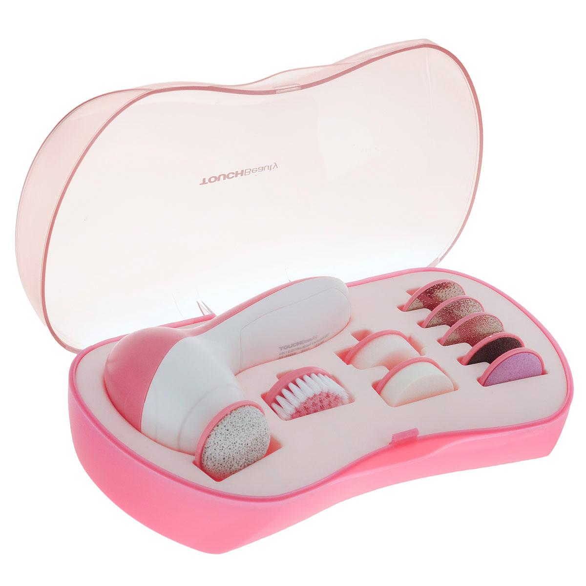 Touchbeauty Педикюрный набор 9в1 Electric Beauty & Clean Set. AS-0601B педикюрный набор touchbeauty as 0601b
